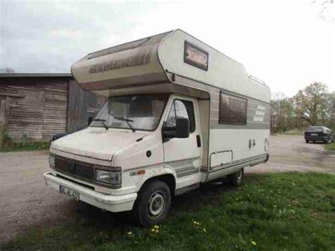 fiat ducato wohnmobil gebraucht wohnmobil fiat ducato 290 wohnwagen wohnmobile