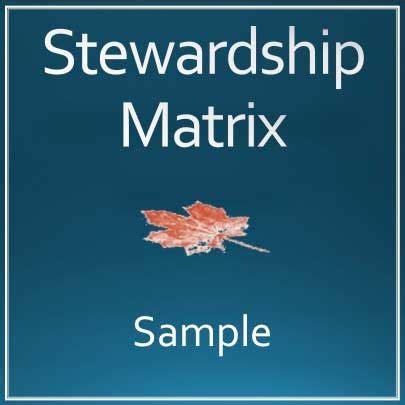 stewardship matrix training resources