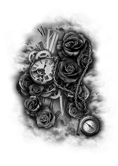 28 best Clock Girly Tattoos images on Pinterest | Clock tattoos, Female tattoos and Girly tattoos