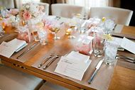 Bridal Shower Table Decorations