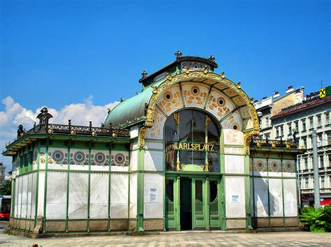 The Nouveau Of Otto Wagner The Nouveau Wagner S Stadtbahn Stations Vienna