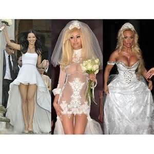 revealing wedding dress most revealing wedding dresses cosmopolitan