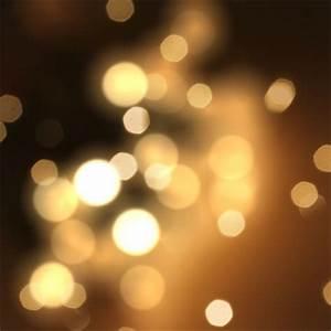 Blurry lights, warm tones Photo | Free Download