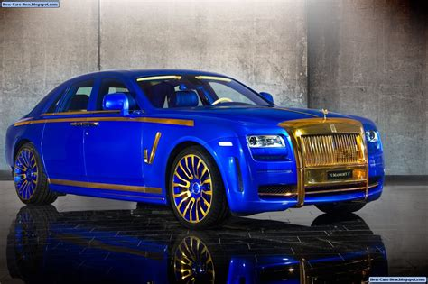 Rolls Royce Ghost Modification by Mansory Rolls Royce Ghost Gold Edition