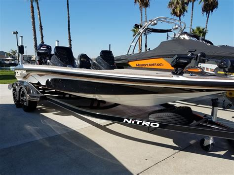 Bass Fishing Boats For Sale In California by Sports Fishing Nitro Boats For Sale Boats