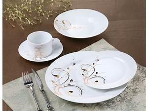 Service De Table En Porcelaine Reveillon 40 Pieces