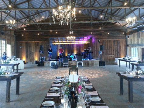 rustic wedding venues  wine country