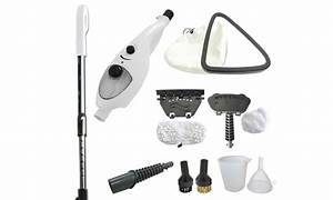 Balai Vapeur Clean Up : balai vapeur 10 en 1 clean up avec manche inox et ~ Premium-room.com Idées de Décoration