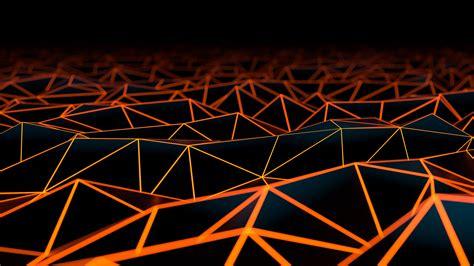 digital art Geometry Texture Black Dark Triangle
