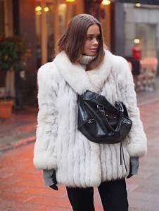 Fur Coat And Boots