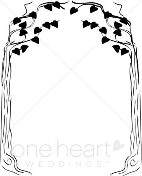 leaf arbor clipart fall wedding clipart