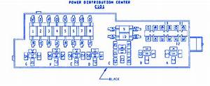Jeep Sahara 4 0 1995 Power Distribution Fuse Box  Block Circuit Breaker Diagram  U00bb Carfusebox
