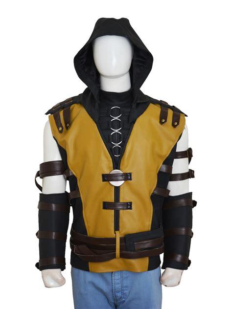 Mortal Kombat X Game Scorpion Costume Vest - Instylejackets