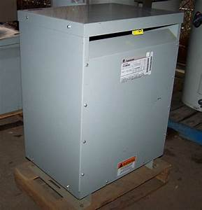 New     Ge Dry Type Transformer 30 Kva  480v  Type Ql Cat