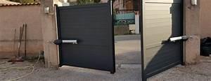 Motorisation A Verin : portail un seul battant ~ Premium-room.com Idées de Décoration