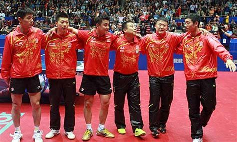 Tabletennisdaily Final Line For China Wttc Team