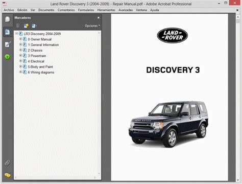 land rover discovery 3 2004 2009 service manual