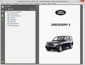 Land Rover Discovery 3  2004-2009  - Service Manual - Wiring Diagram