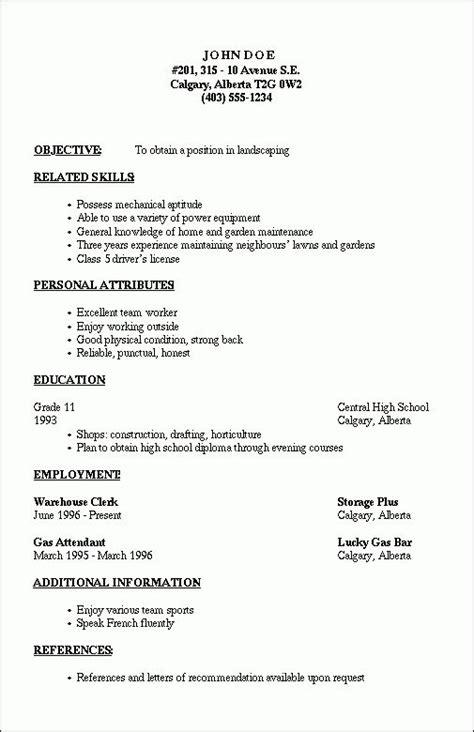 Resume Outline by Resume Outline 2 Resume Cv Design Resume Template