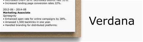 Font Style For Resume by Best Font For A Resume What Size Typeface To Use 15