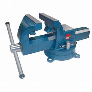 BESSEY 8 in Drop Forged Bench Vise with Swivel Base-BV