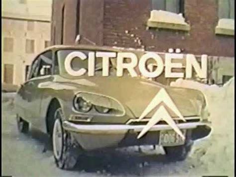 Citroen Canada by Pub Citro 235 N Canada 1970 1