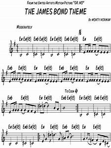 James Bond 007: Dr. No Keyboard Sheet Music Downloads at ...