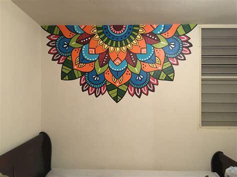 #mandala #colors #tattoo #pared #draw Decoracion con