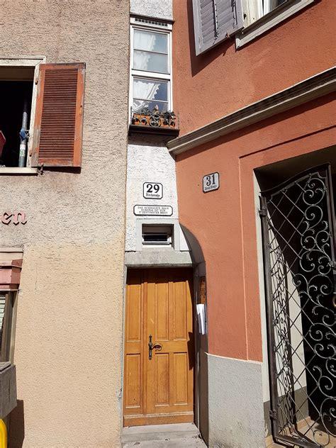 schmalste hausfassade europas bregenz