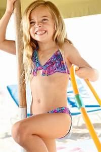 Peixoto Kids Mai | Designer Kids Snake Fringe Bikini Set ...