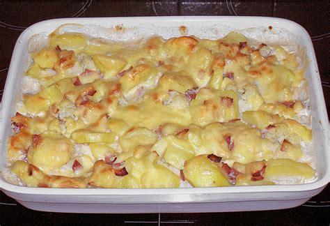 aufläufe mit kartoffeln rezept backofen blumenkohl kartoffel auflauf