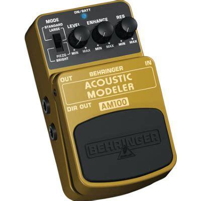 behringer acoustic modeler am100 musikhaus
