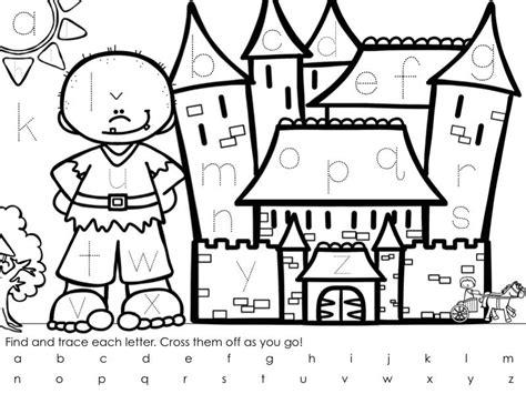 find  trace  alphabet jack  beanstalk fairy