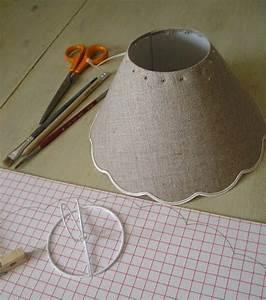 Création Avec Tissus : creation d 39 abat jour le temps vagabond ~ Nature-et-papiers.com Idées de Décoration