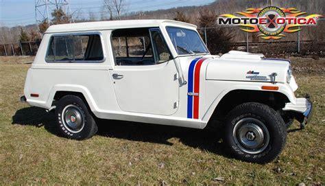 1970 jeep commando 1970 jeep hurst jeepster commando motoexotica classic