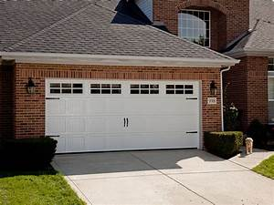 The best material to make garage door designwallscom for Carriage style garage doors kit