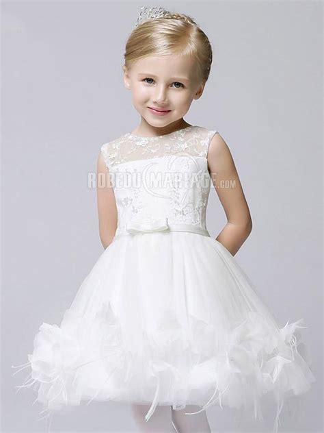 robe mere dela mariee pour mariage intime robe de fille pour mariage appliques en tulle