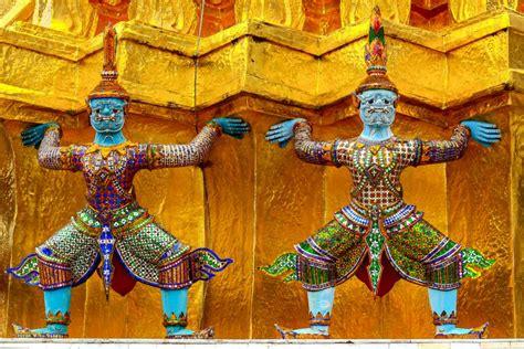 die tempel von siam thailand