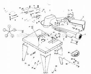 Craftsman 25443 Parts List And Diagram   Ereplacementparts Com