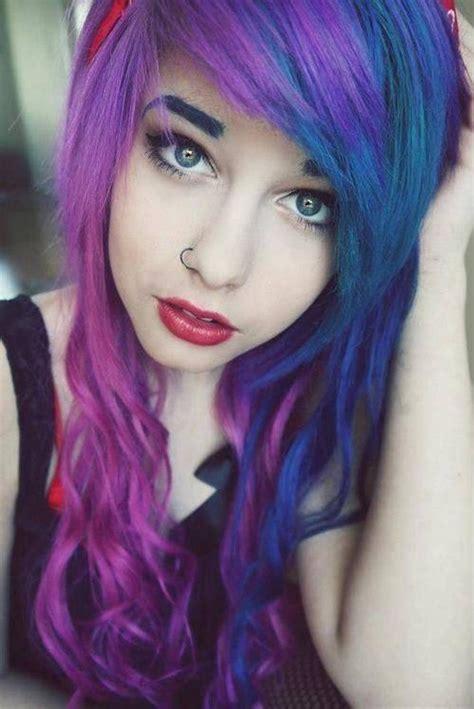 Cute Hair Colors Tumblr Spefashion