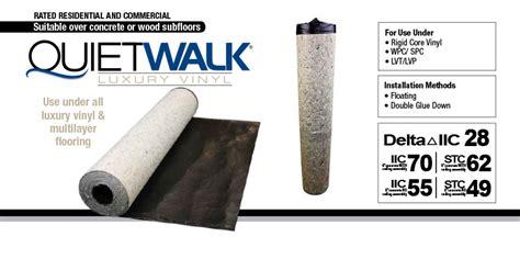 Quietwalk Luxury Vinyl Underlayment  Vinyl Plank