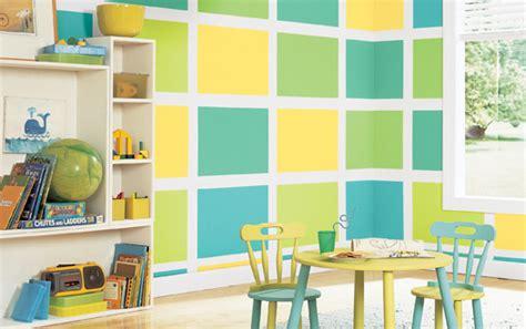 Wandgestaltung Kinderzimmer Grün Blau by Kinderzimmer Streichen Freshouse
