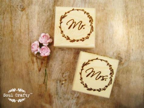 Personalized Mr Mrs Rustic Wood Ring Bearer Box Rustic