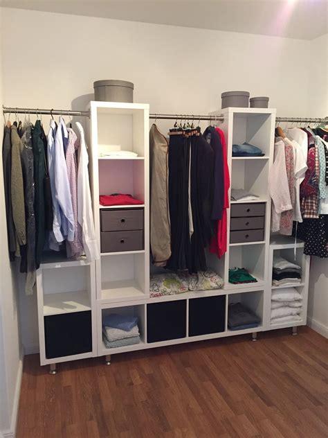 Ankleidezimmer Ikea Ebay by Kleiderschrank Ikea Kallax Stangen Und Die F 252 223 E 252 Ber Ebay