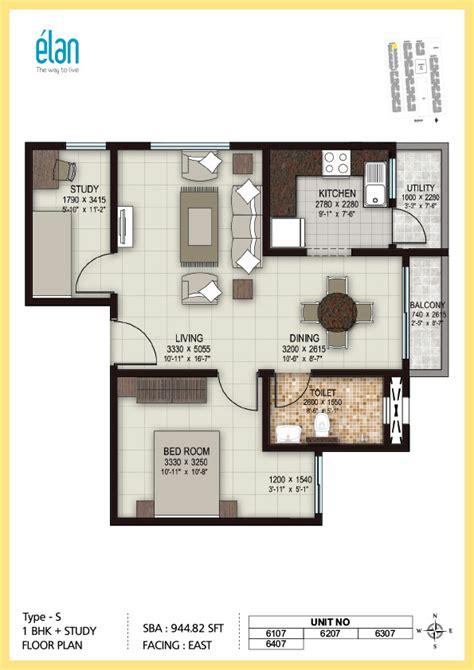 3 bedroom house plan 1 bhk 2 bhk and 3 bhk apartments in coimbatore sobha elan
