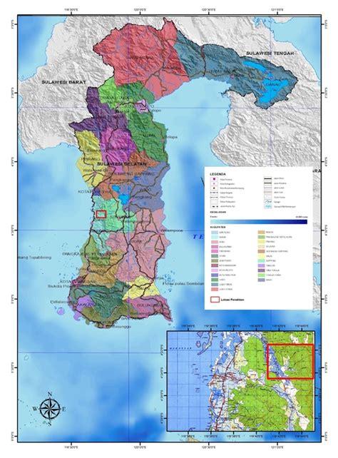 peta tunjuk lokasi daerah pemetaanku dearthur jr