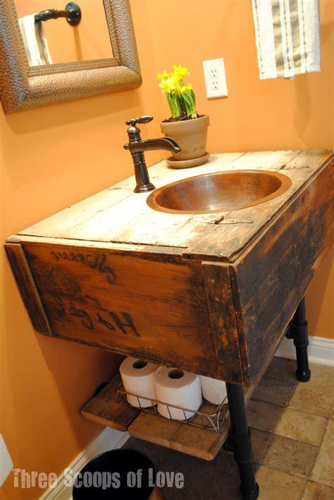 creative diy bathroom vanities