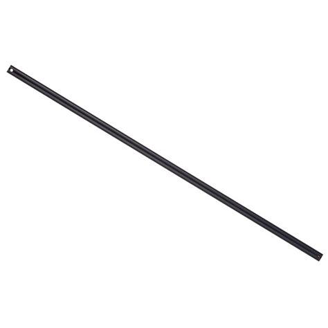 ceiling fan extension rod ceiling fan extension rod in black for beacon fans ceiling