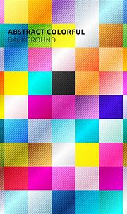 Abstract colorful square pattern background. - Download ...