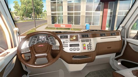 truck interieur styling the new color peterbilt 579 interior for american truck